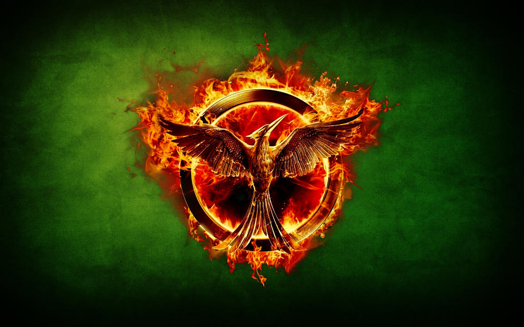 The hunger games mockingjay wallpaper by sa3er on deviantart the hunger games mockingjay wallpaper by sa3er voltagebd Image collections