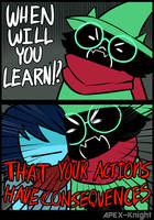 When Will You Learn by APEX-Knight