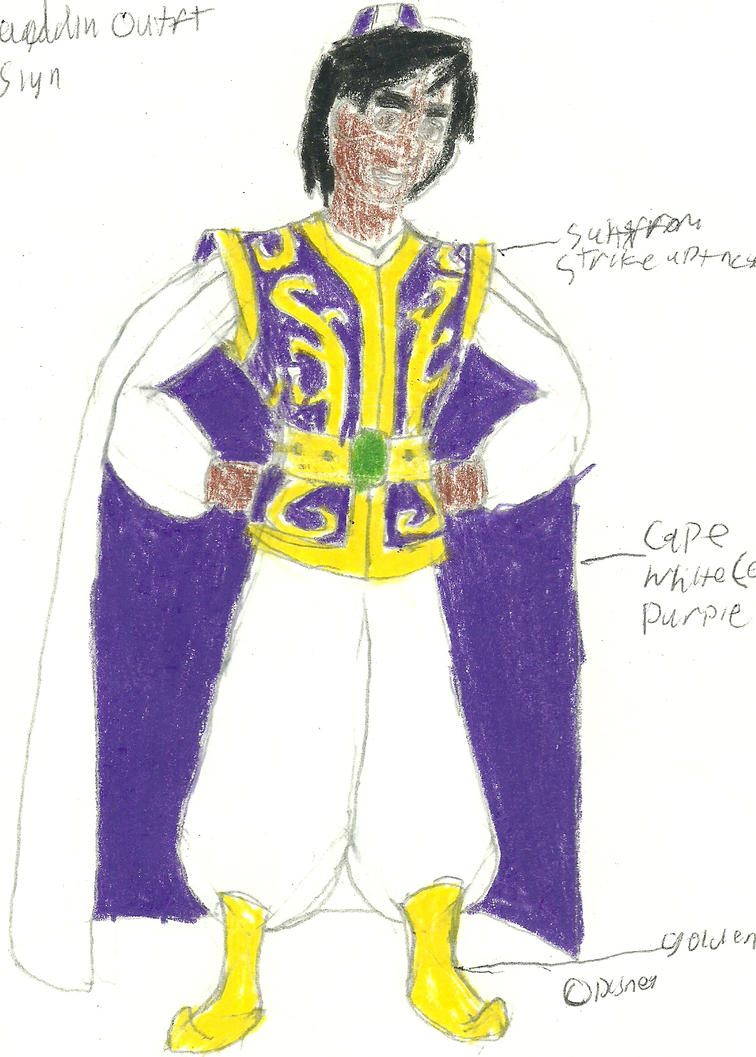 Aladdin Outfit Design by RedJoey1992