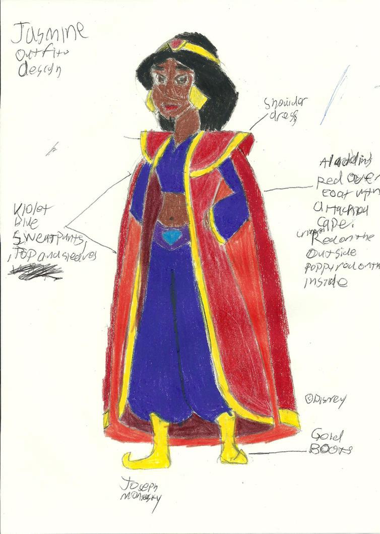 Jasmine Outfit Design by RedJoey1992