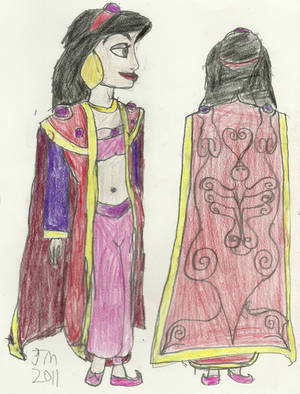Princess Jasmine - Why I Loved Drawing Her by RedJoey1992 on DeviantArt