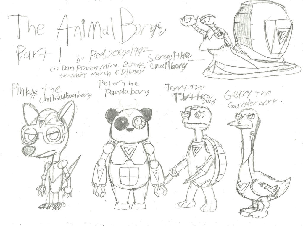 The Animalborgs (First Part) by RedJoey1992