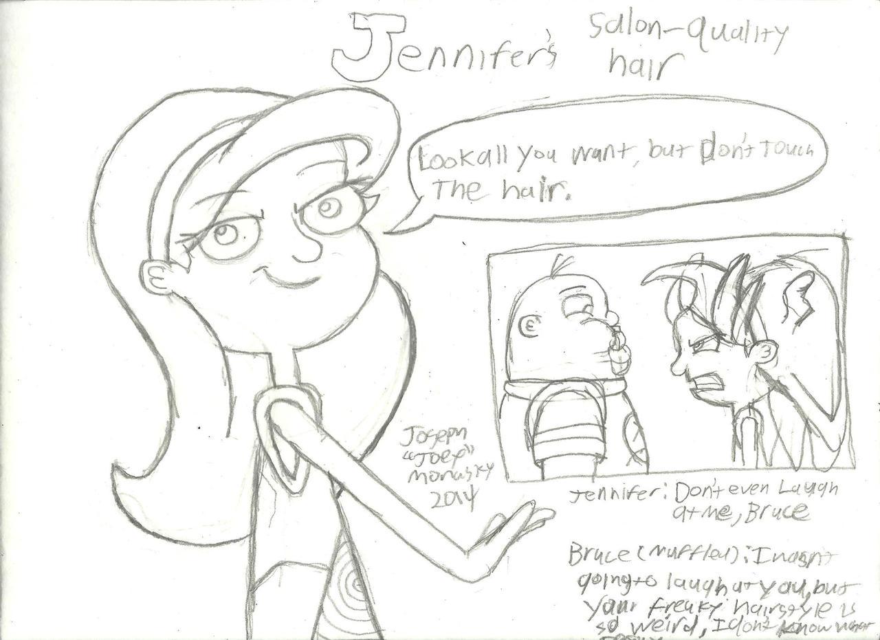 Jennifer's Salon-Quality Hair by RedJoey1992 on DeviantArt
