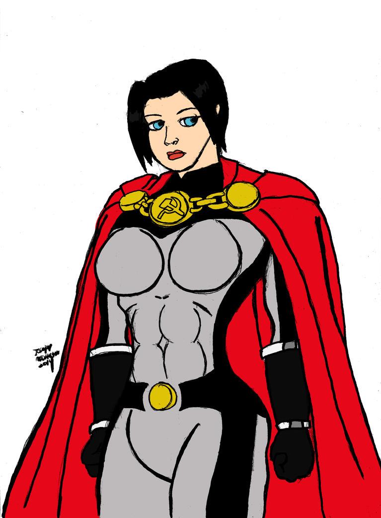 Soviet Superwoman Birthday Present 2014 by RedJoey1992