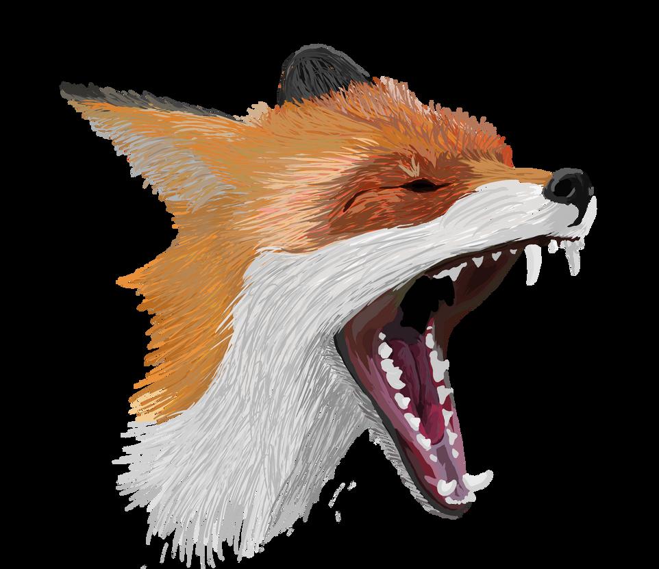 Fuchs Zeichnung x3 by Syreen-Isy