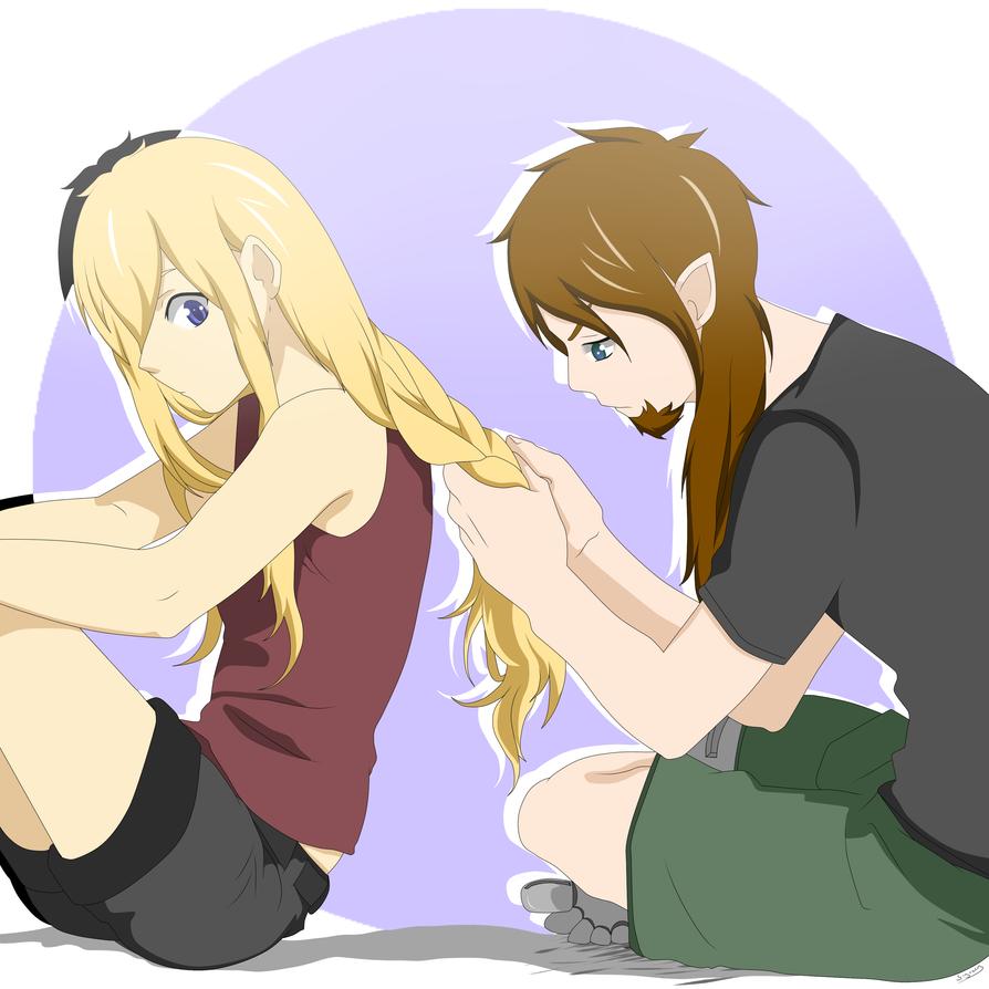 flechte meine Haare schatz by Syreen-Isy