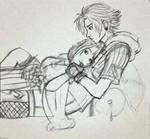 Yuna and... Tidus