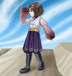 Al Bhed Yuna by Jessami
