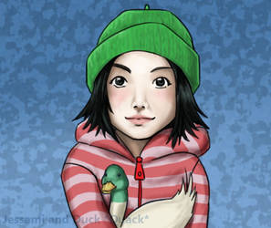 Sarah and Duck by Jessami