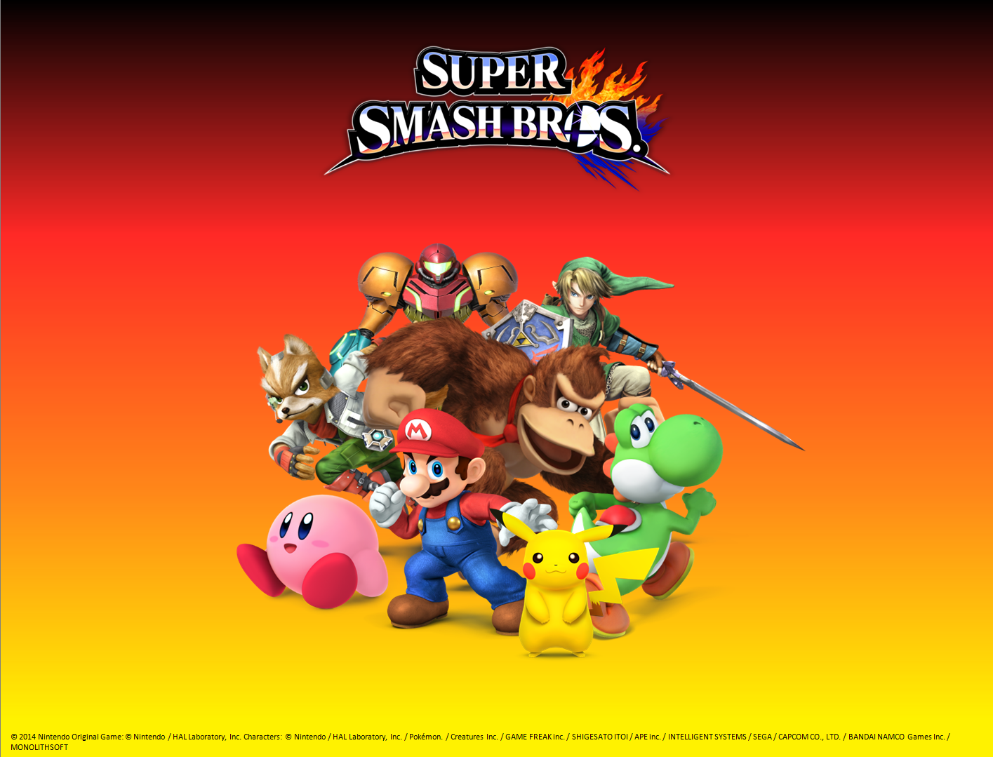 Super Smash Bros. - Great Eight Wallpaper by Venofoot on ...