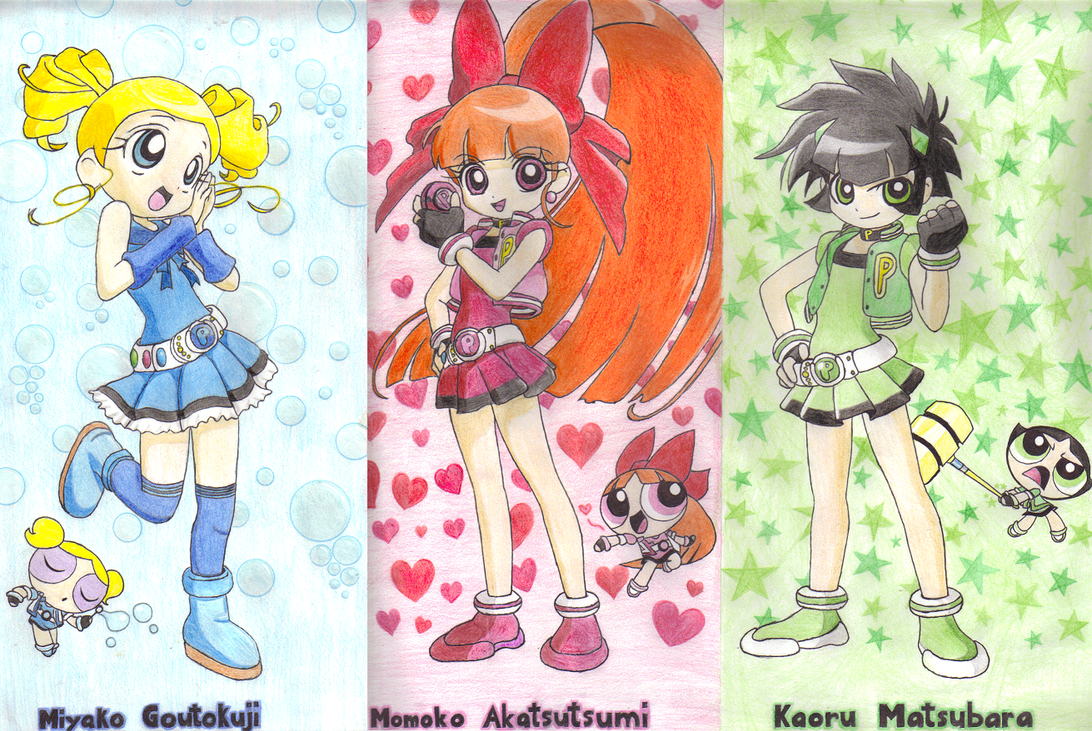 Powerpuff Girls Z by Spine-Shank on DeviantArt