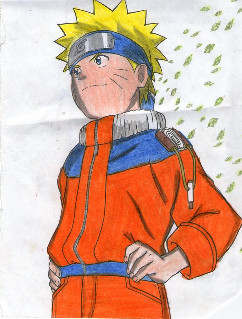 Naruto Pose by yuri12inuzuka