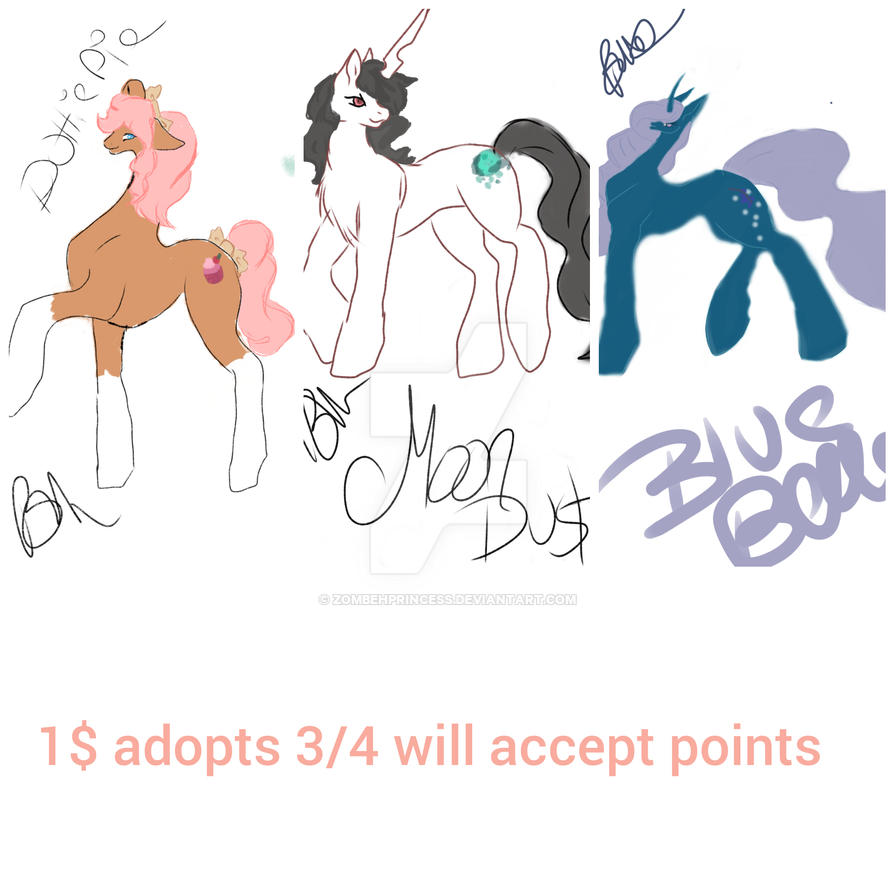 Open Adopt sale post by zombehprincess