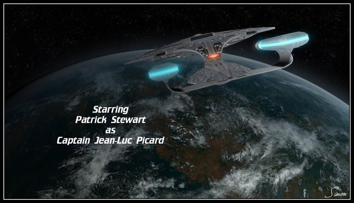 Patrick Stewart as Capt Picard by celticarchie
