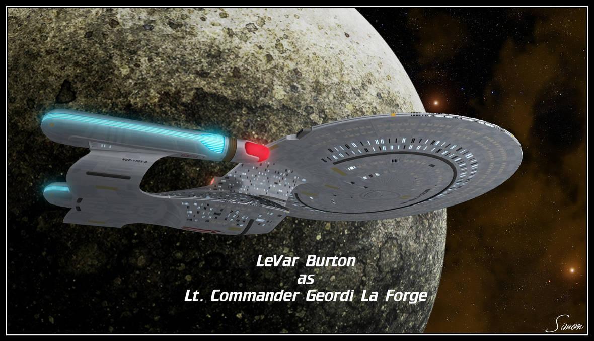 Lt. Cmdr Geordi La Forge by celticarchie