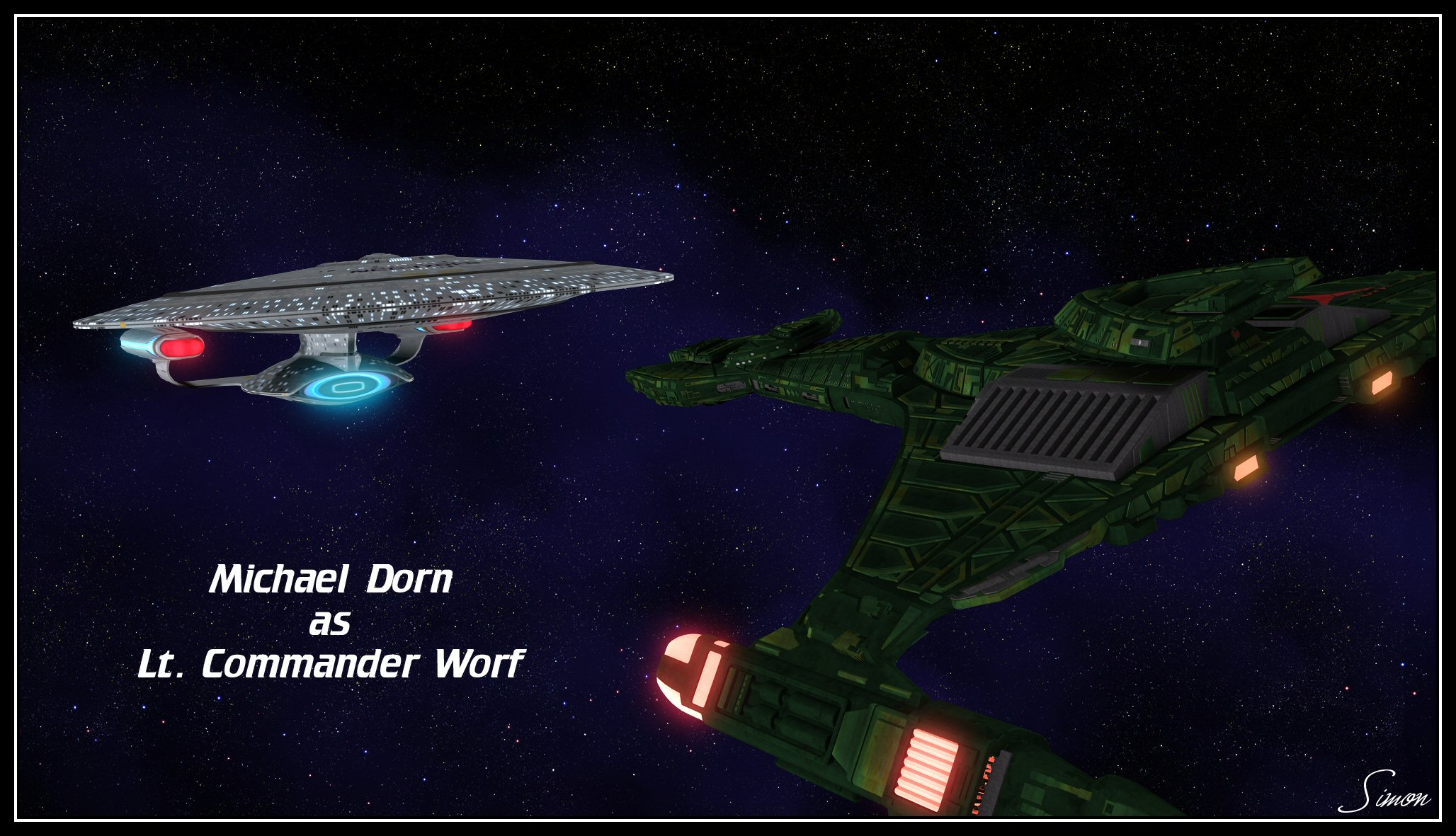 Lt Cmdr Worf by celticarchie