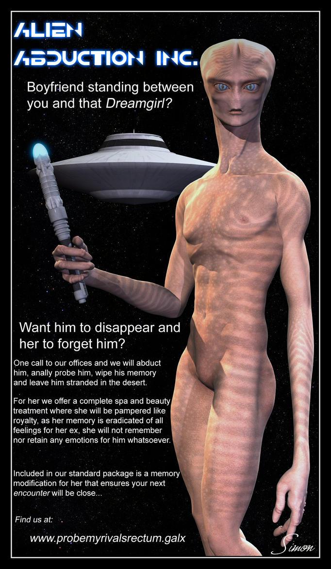 Assured, abduction alien anal probing
