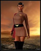 Commander D'Tani by celticarchie