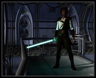 Jedi Master by celticarchie
