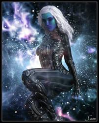 Alien Girl by celticarchie