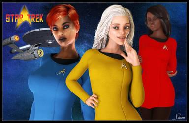 Star Trek - New Recruits by celticarchie