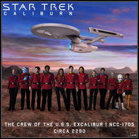 The Crew Of The U.S.S. Excalibur - Circa 2290 by celticarchie