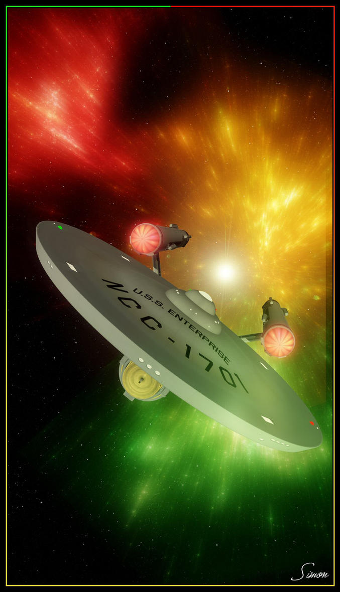 How The Enterprise Saved Christmas... by celticarchie