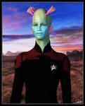 Captain Greelak - Close Up