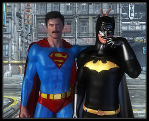 Batman V Superman by celticarchie