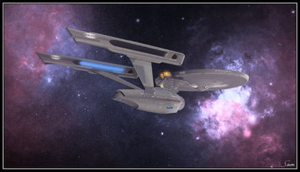 Clear For Warp Speed by celticarchie
