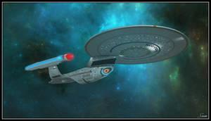Enterprise-C - Andy Probert Concept Version