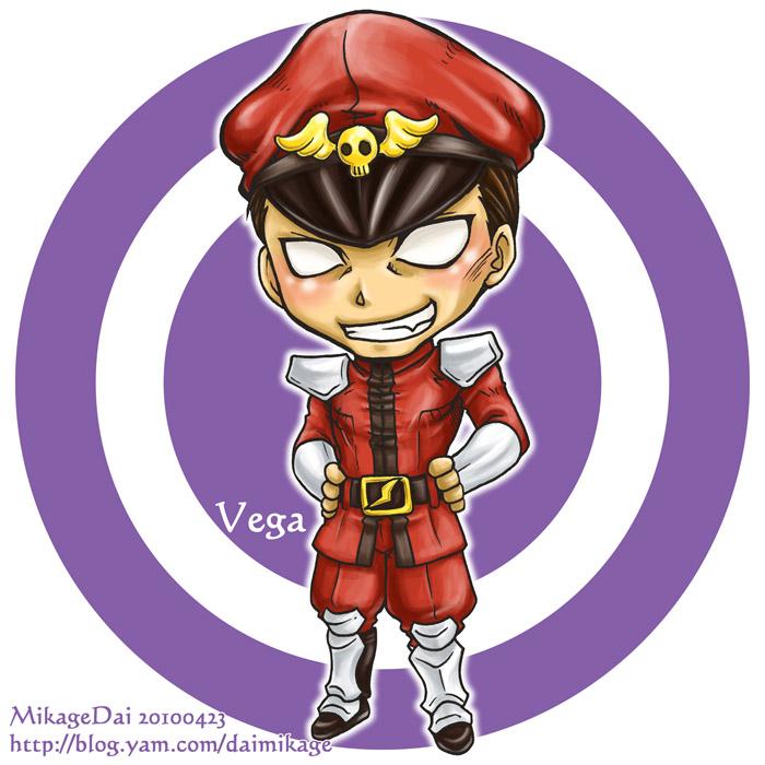 M.Bison_Vega by MikageDai