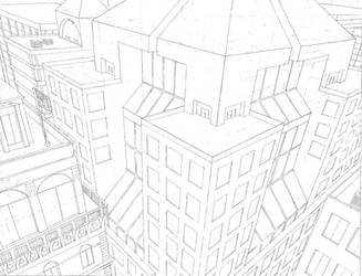 Skyscrapers by AlexTheMartian