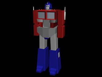 Optimus Prime by AlexTheMartian