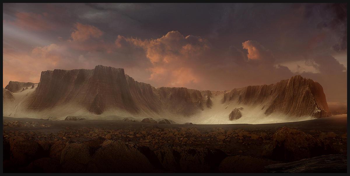 Sacred Land. by BPauba