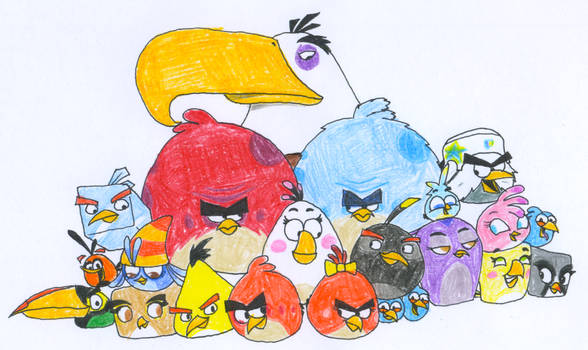 Angry Birds 10 Drawing Challenge - Day 23
