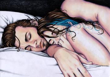 Cuddles by larkabella