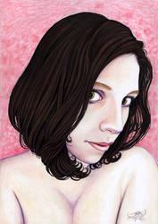 Francesca Portrait by larkabella