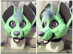 Livilou Fursuit Head WIP