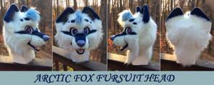Arctic Fox Fursuit Head