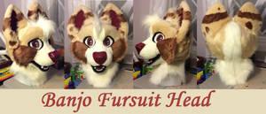 Banjo Fursuit head
