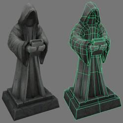 Statue asset.