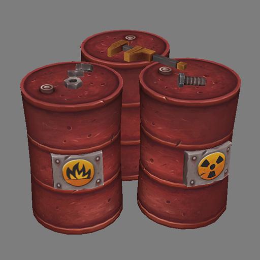 Metal Barrel Render by Jimpaw