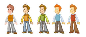 Billy_character design