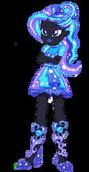 Equestria Girls OC - Aurora Night