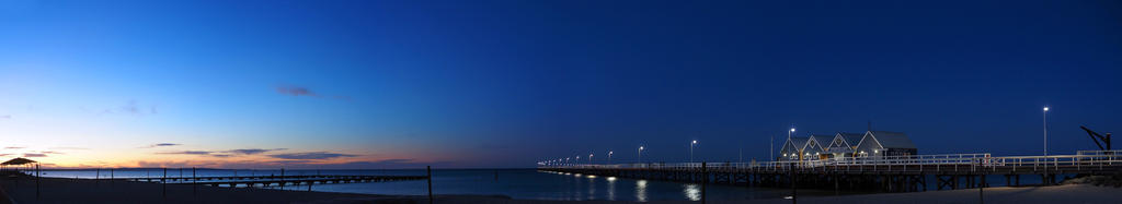 Jetty at Twilight by Squiddgee7734