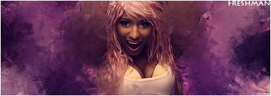 Freshman Nikki Minaj Sig by DailyVitamin