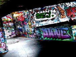 dark graffiti by clittle30