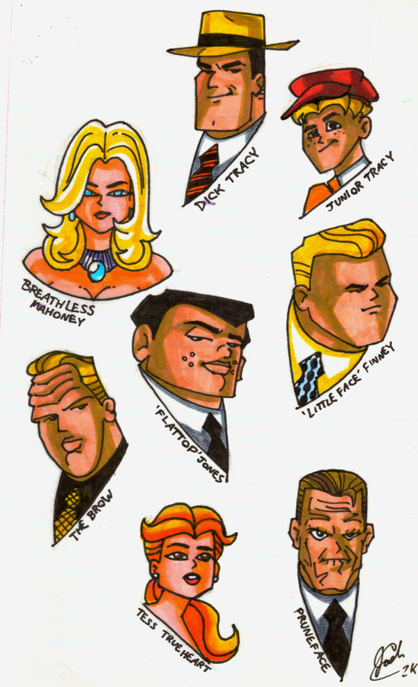 Dick Tracy Art 83