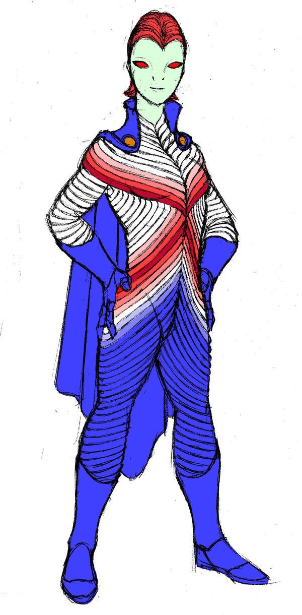 Sketch - M'gann M'orzz by Jochimus